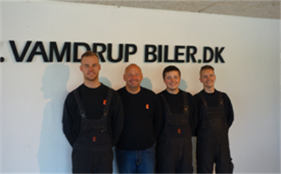 Vamdrup Biler Vaerksted Vamdrup Vaerksted Personale 2014