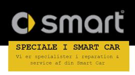 Service og reparation af SMART Cars i Aars