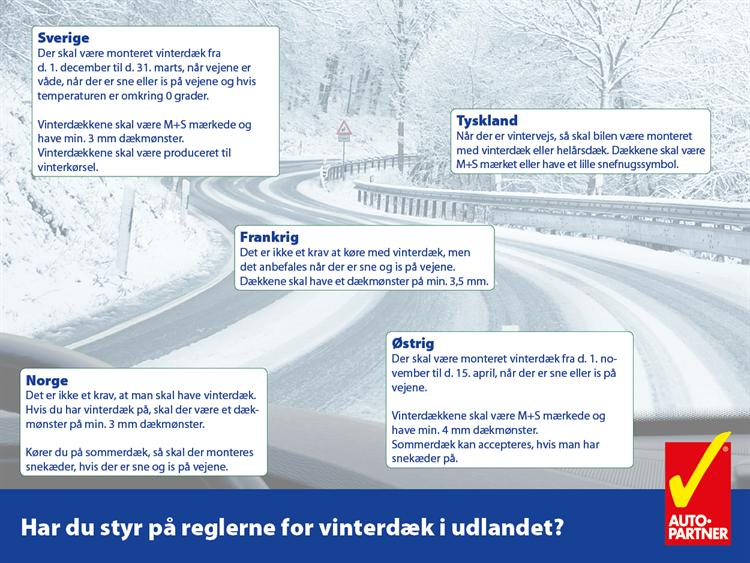 Auto Partner - Regler For Vinterdæk3