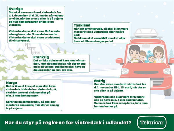 Teknicar - Regler For Vinterdæk