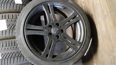 Vinterhjul Alu Sort Audi