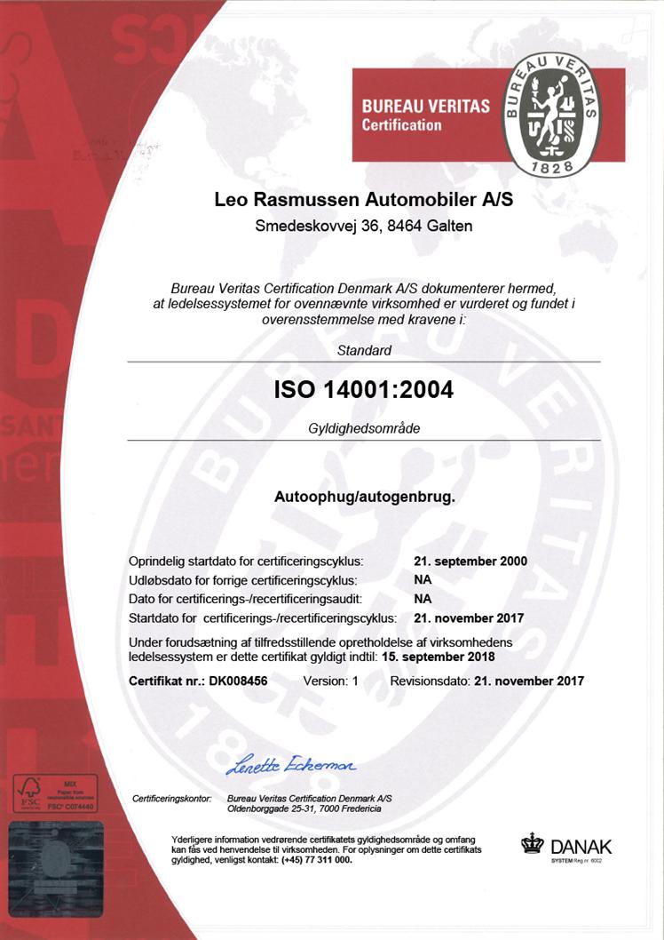 Dk008456 1 Leo Rasmussen Automobiler Danak Dk 14001 2004 11 10 17