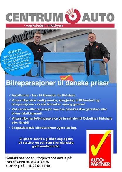 Norsk Reklame Helsidet